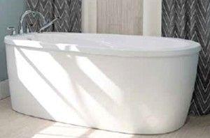 Neptune Vapora F2 End Drain Freestanding Bath 60 x 36, 66 x 36 ...