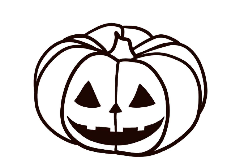 Halloween Kurbis Ausmalbild Unterrichtsmaterial In Den Fachern Fachubergreifendes Kunst Kurbis Ausmalbild Ausmalbild Ausmalen