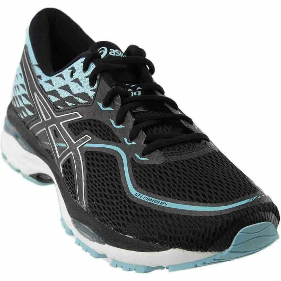 Asics Gel Cumulus 19 Running Shoes Black Womens Cumulus Asics Gel Black Athletic Shoes Boot Shoes Women Black Running Shoes