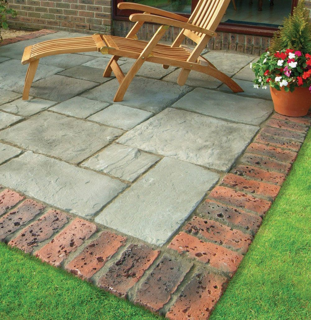 patio brick edging - google search   paving   pinterest   mattoni