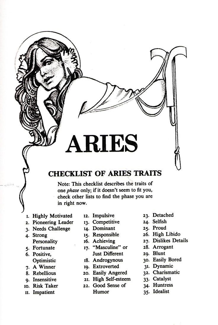 Astrology Quotes : Aries 1eyeJACK | Aries zodiac facts ...