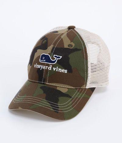 d05edded047 Camo Trucker Hat - Vineyard Vines