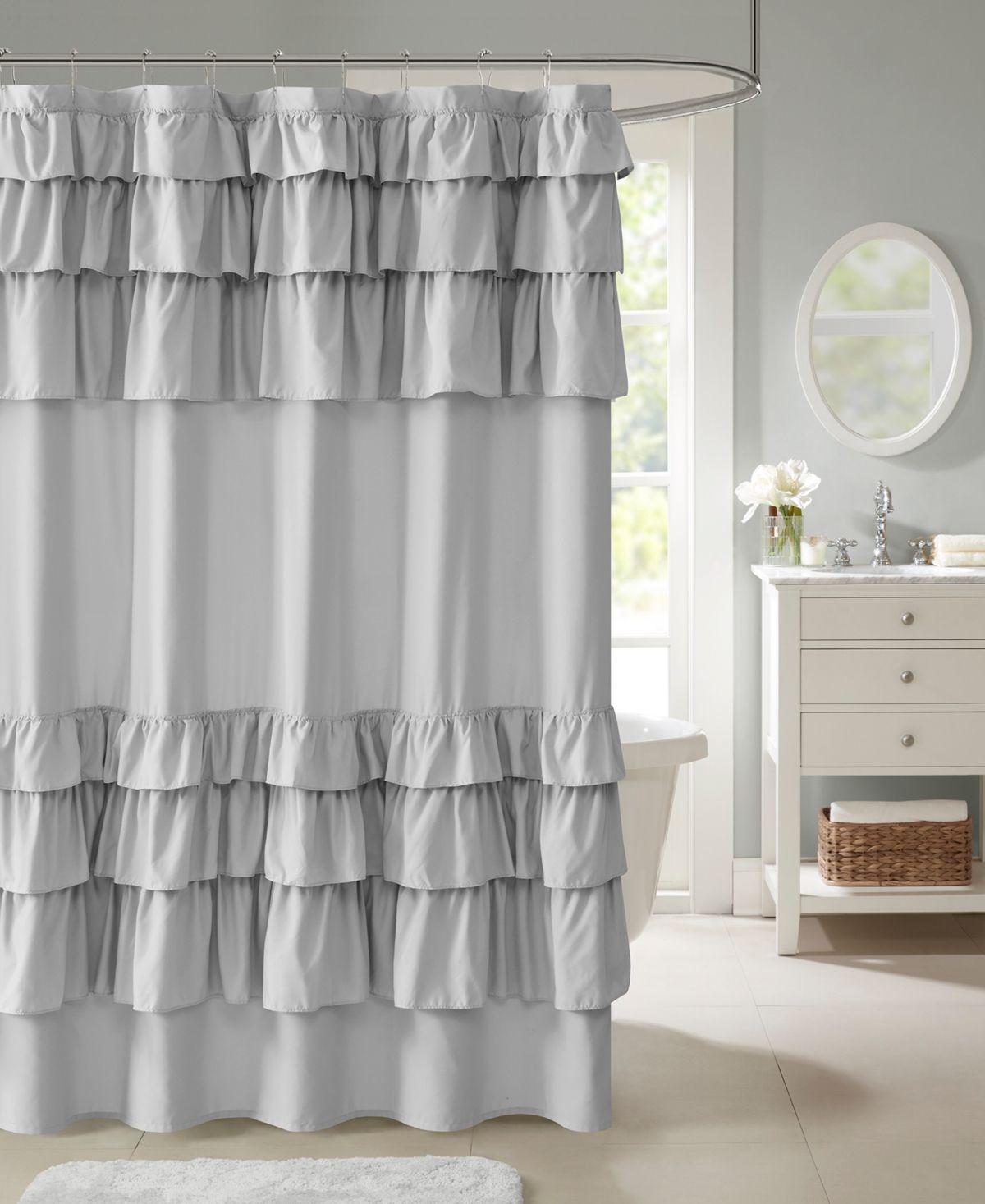 Madison Park Grace 72 X 72 Ruffled Shower Curtain Reviews