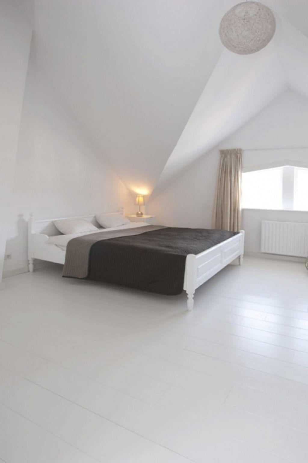 witte vloer slaapkamer witte vloer slaapkamer binnen witte houten ...