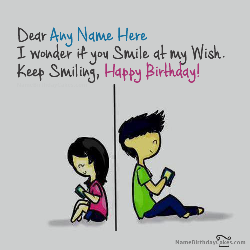 Write name on Crazy Birthday Card for Friend Happy Birthday – Awesome Birthday Cards
