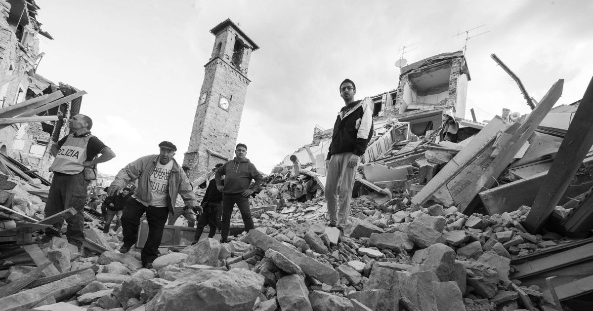 Lost Time In Amatrice The Past And Present Of Italy S Earthquakes