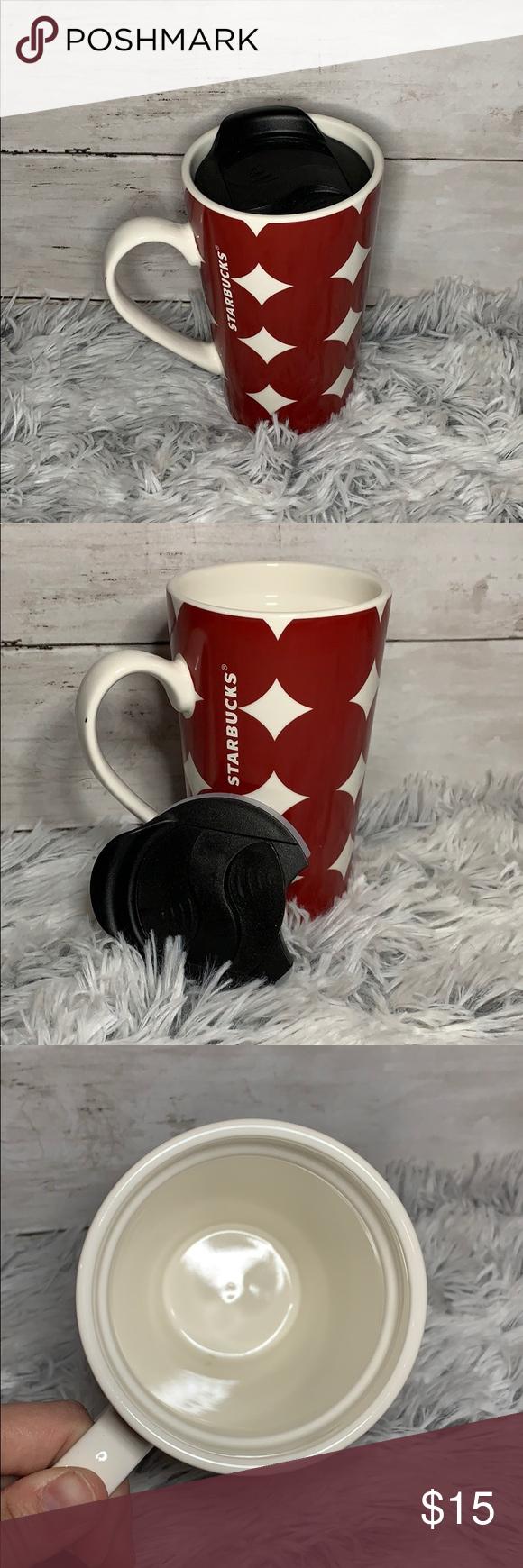 Starbucks Tall Mug with Lid (With images) Mugs, Tea