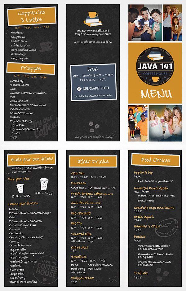 15 Refreshing Coffee Shop Brochure Designs Naldz Graphics In 2020 Coffee Shop Sketch Menu Coffee And Bagel