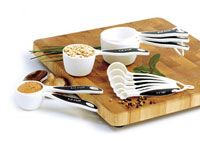 Measuring Set | The Serious Cooks Twelve Piece Measuring Set