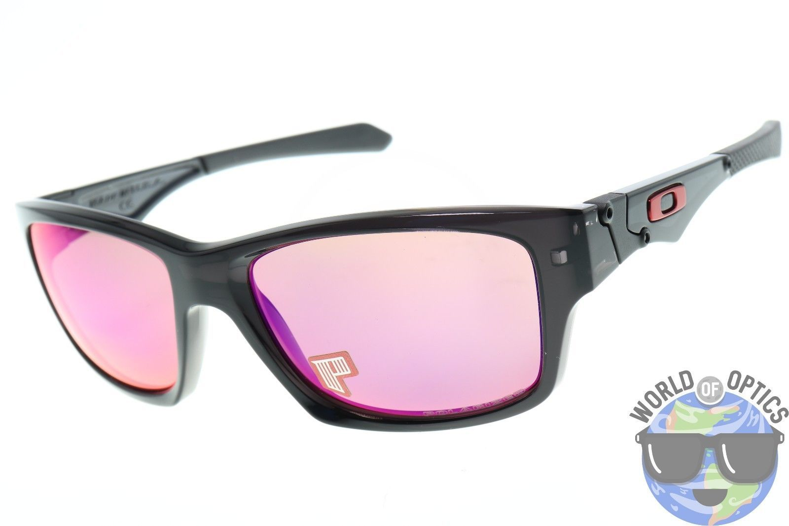 0fbbe3e8e7a66 Oakley Jupiter Squared Sunglasses OO9135-06 Black Ink   OO Red Iridium  Polarized