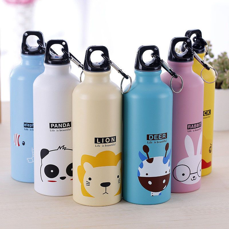 Outdoor Camping Plastic Bicycle Home Kitchen Cup Straw Drinking Water Bottle