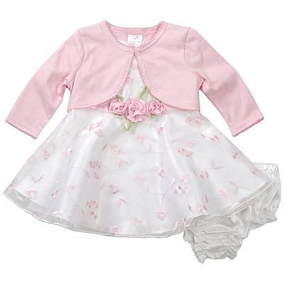 4a9876a16 Church dress for Teagan Marie (: | Kids! | Dress with cardigan, Baby ...