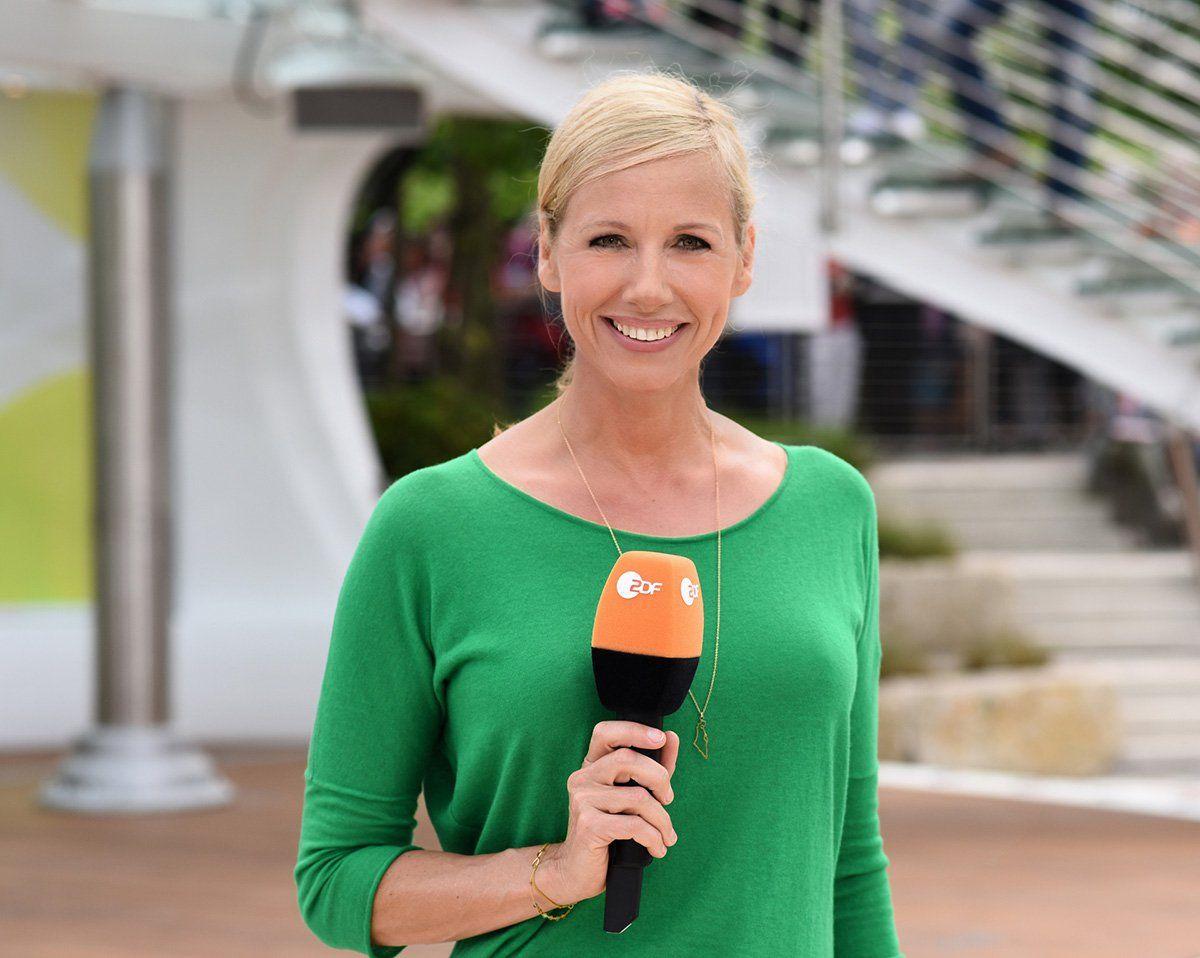 Andrea Kiewel Diese Gaste Kommen Heute In Den Zdf Fernsehgarten Schlager De Zdf Fernsehgarten Kopf Und Kragen Andreas