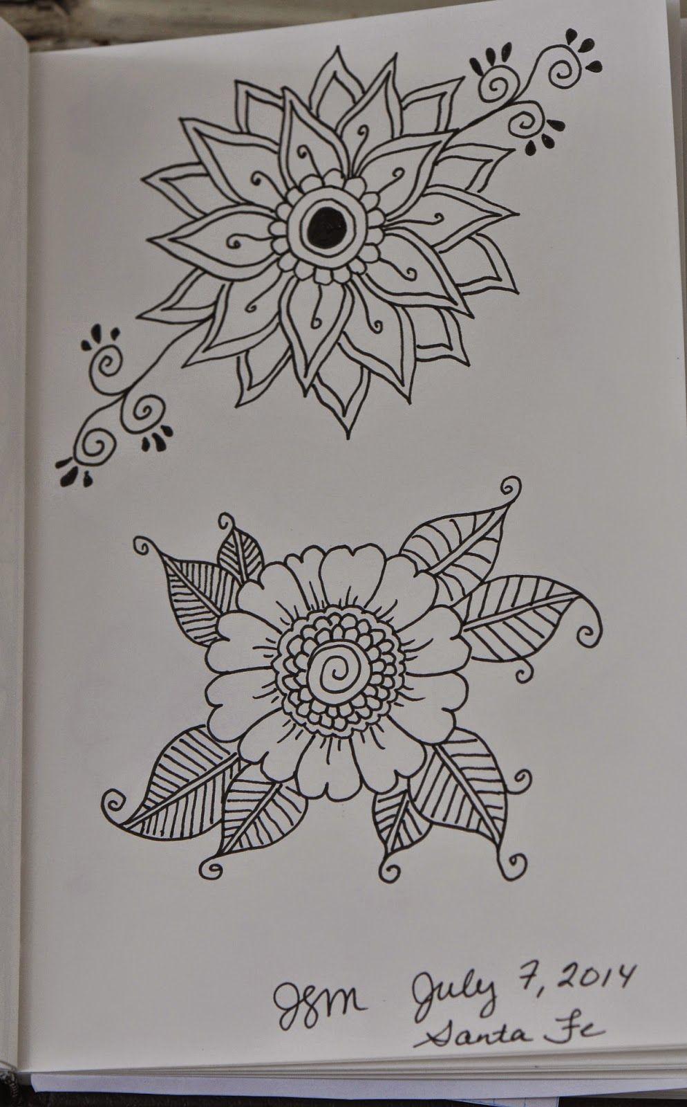 Flower Doodles frieda louise   Embroidery   Pinterest ...
