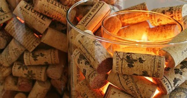 Wine Cork Candle Holder | Corks, Wine Corks and Wine