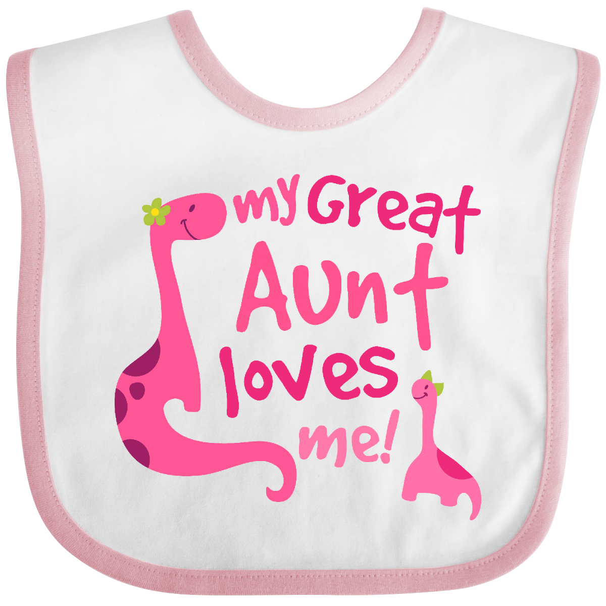 Heart Baby T-Shirt inktastic My Great Aunt Loves Me