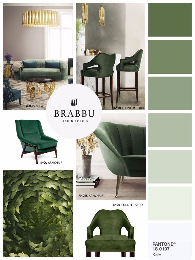 Spring Color Trends For Your Home Decor | Interior Design Inspiration. Color Trends. Spring Trends. #homedecor #colortrends #springtrends  See more inspiration for your home decor in: https://www.brabbu.com/en/inspiration-and-ideas/moodboard/amazing-mood-boards-inspire-spring-home-decor-project