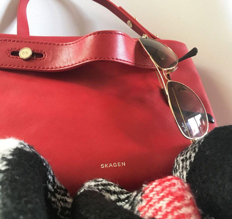 Die ROTE Tasche