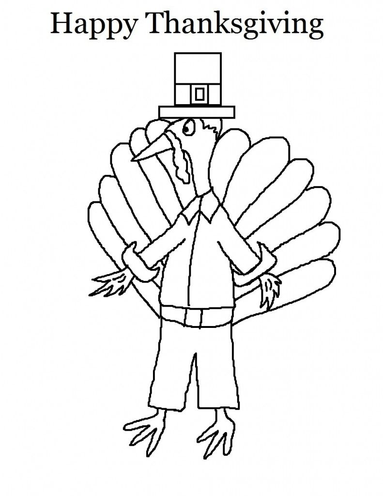 Free Printable Thanksgiving Coloring Pages For Kids Turkey Coloring Pages Thanksgiving Coloring Pages Coloring Pages For Kids [ 1024 x 791 Pixel ]