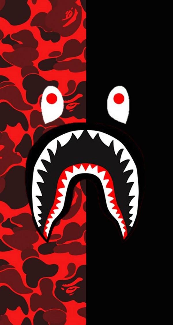 Bape Shark Jacket Phone Wallpaper Bape Wallpapers Bape Wallpaper Iphone Bape Shark Wallpaper