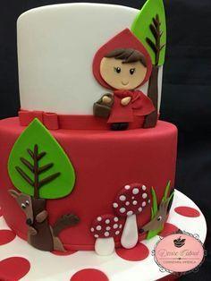 Resultado de imagen de caperucita roja tartas