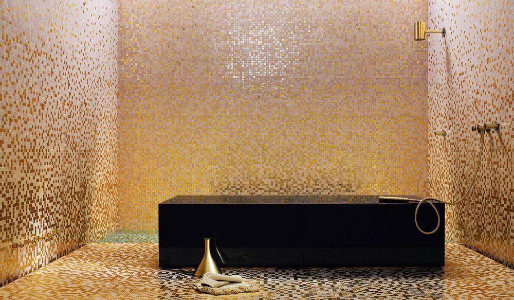 Bagno Con Mosaico Bisazza : Bisazza mosaico sfumature peonia mosaico peonia della