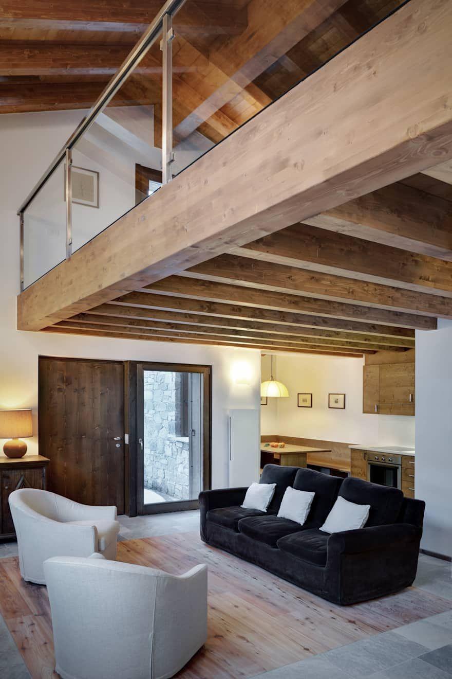 Soggiorno Idee Immagini E Decorazione Homify Interni Rustici Moderni Arredamento Rustico Moderno Fienili Ristrutturati