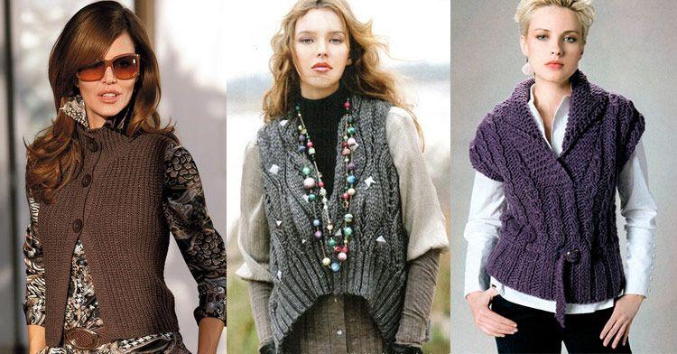 Вязание спицами мода 2017 100