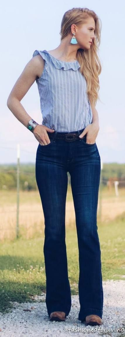 Super short cowboy boats outfit jeans country style 34 Ideas - RC Boats Super short cowboy boats ou