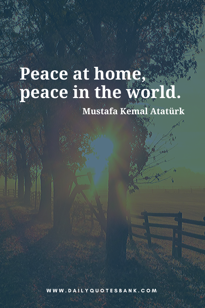 Inspirational Short Quotes About Peace Of Mind Love Life World And Yourself Short Peace Quotes Short Quotes World Peace Quotes Peace Quotes