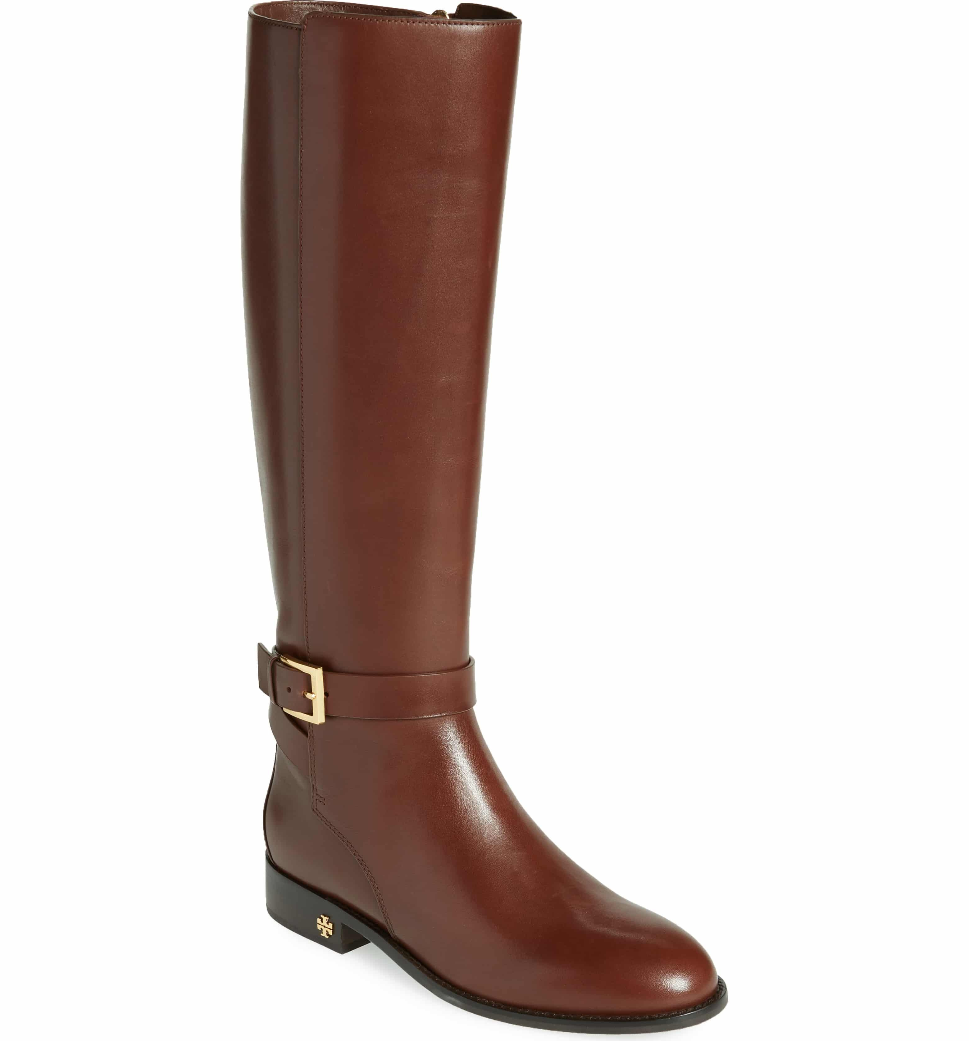 f5b99d87290 Tory Burch Brooke Knee High Boot - Perfect Brown