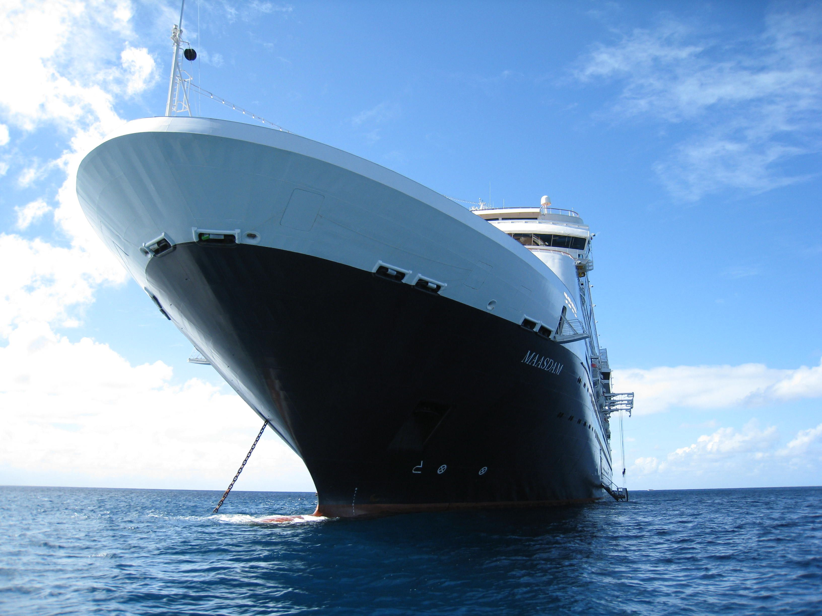 The MS Maasdam. One of our favorite @HALcruises ships!