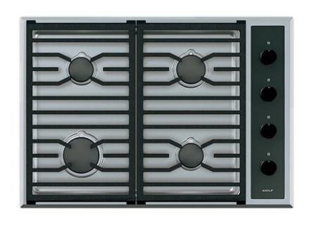 Wolf - CG304T/S/LP - Gas Cooktops #Cooktops Kitchen Stoves
