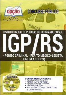 Apostila Perito Criminal E Perito Medico Concurso Igp Rs 2017