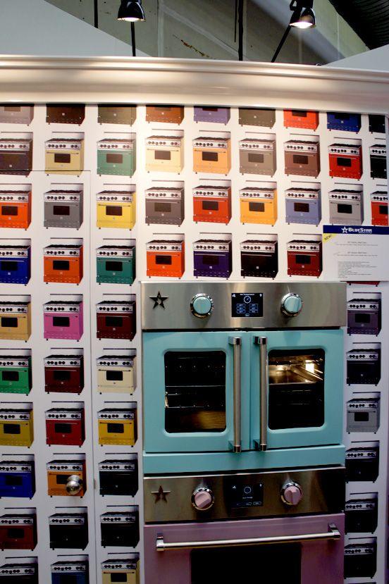 Blue Star Color Range /The Painted Room | Colorful Kitchens
