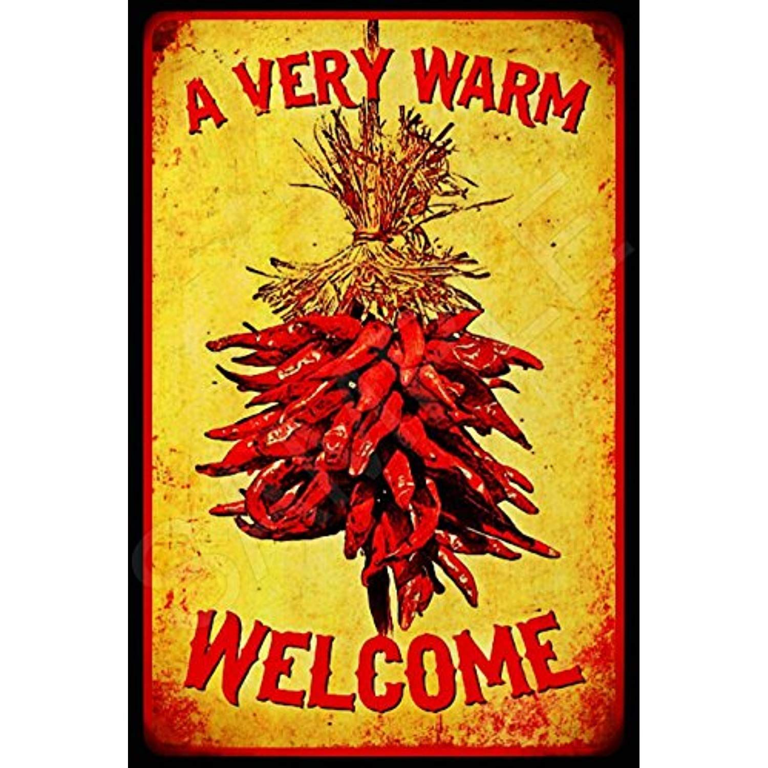 Signs 4 Fun New Mexico Hot Stuff Chile Pepper Metal License Plate