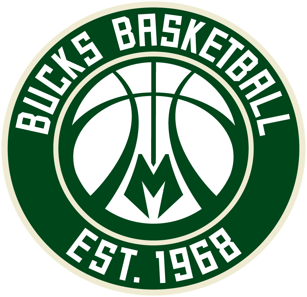 Milwaukee Bucks: Reviewed: New Logos For Milwaukee Bucks By Doubleday