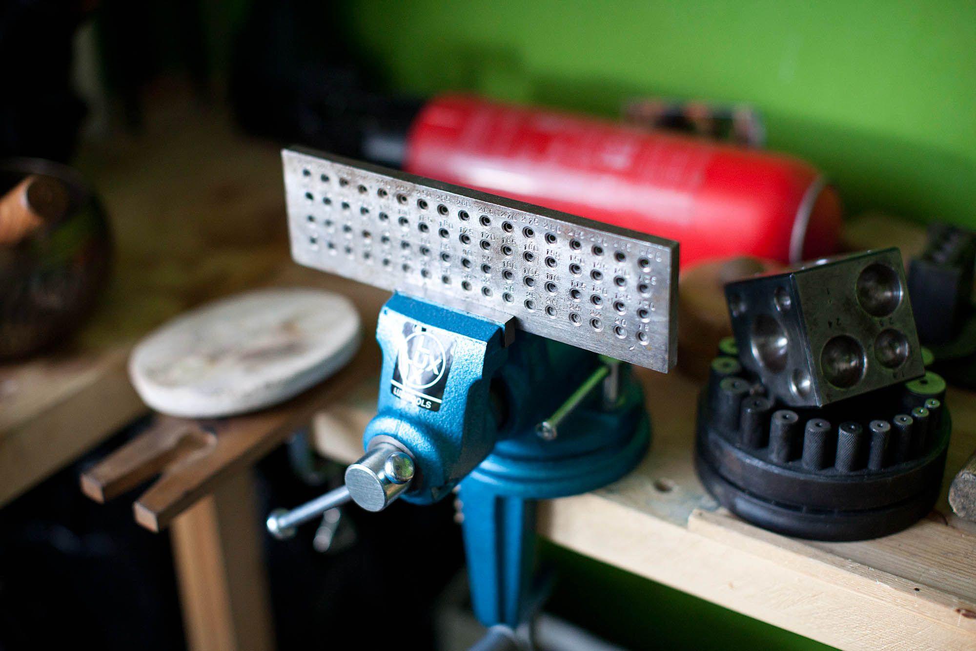 jewelry studio / tools