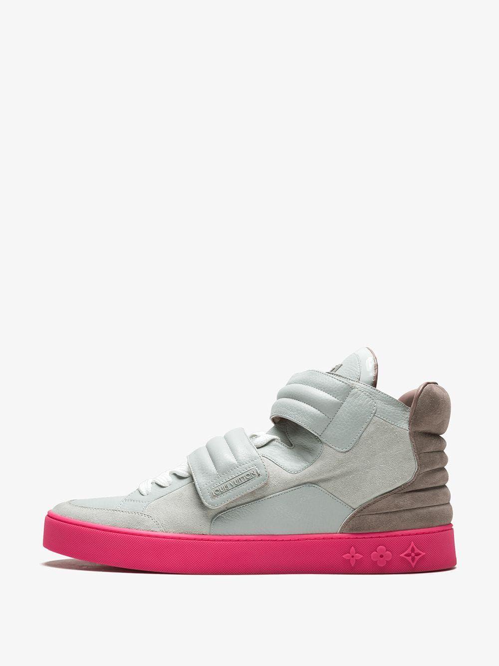 Stadium Goods Louis Vuitton X Kanye West Jasper Sneakers In Grey Modesens Brown Sneakers Sneakers Sneakers Grey