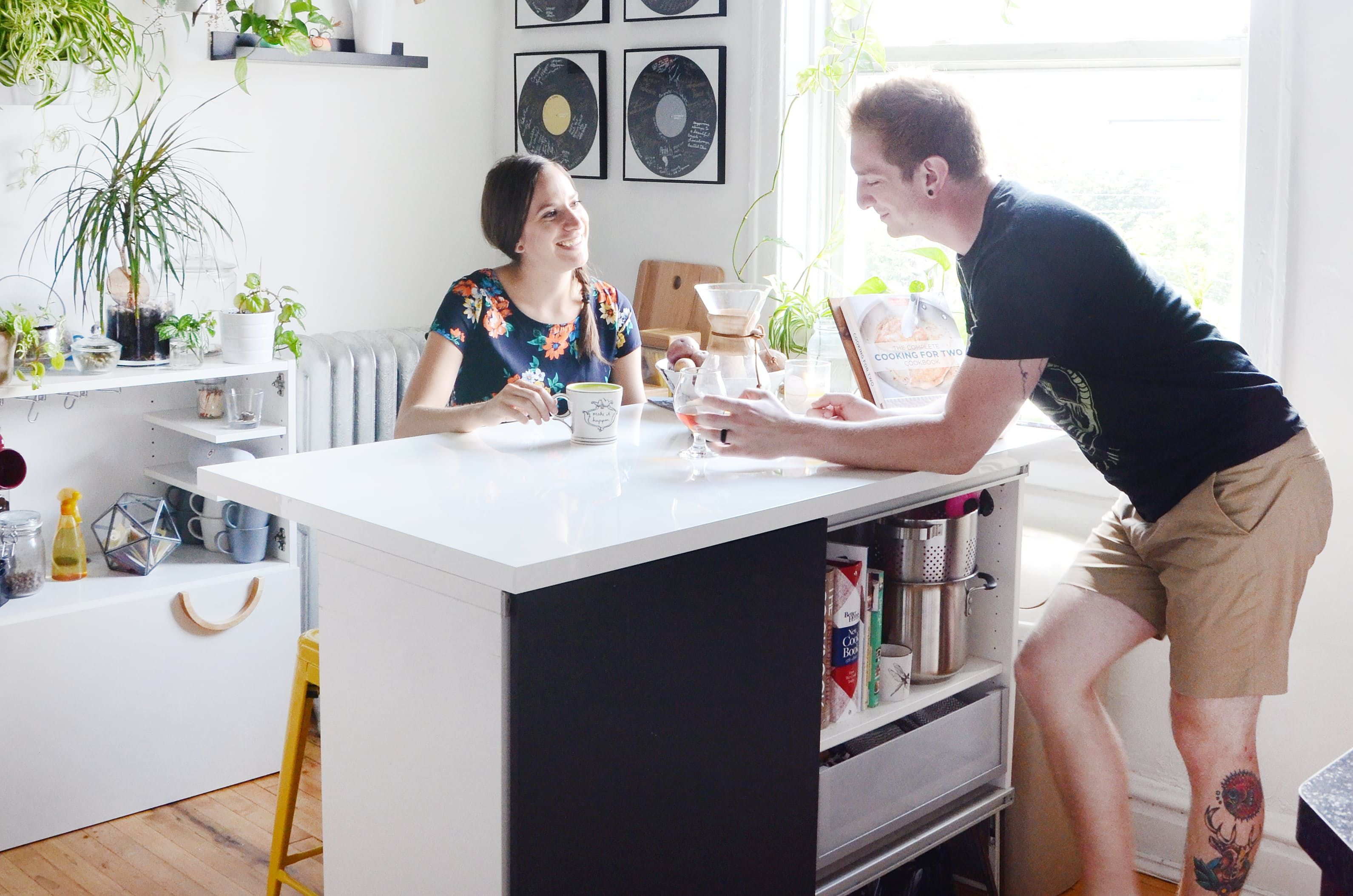 Transformation Inspiration: How a Couple Turned a Boring Rental ...