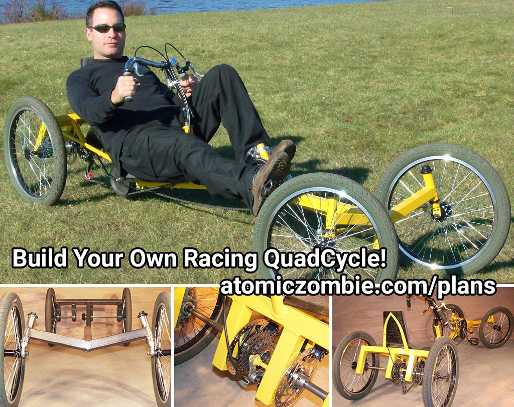 Build your own quadcycle lowracer ultimate workout