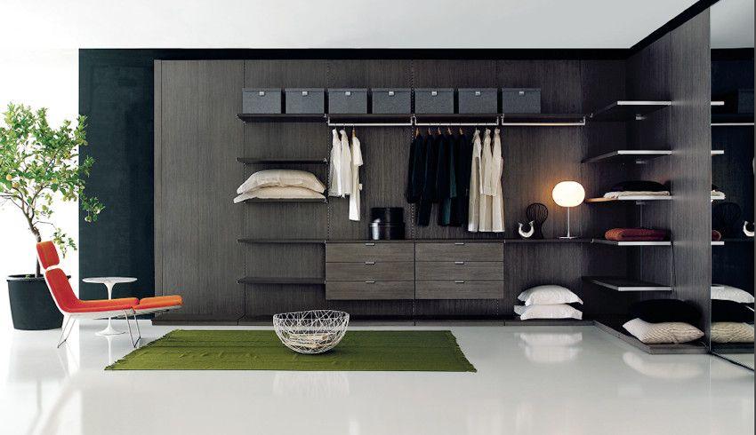 Vestidor moderno vestidores y placares pinterest armario - Muebles italianos modernos ...