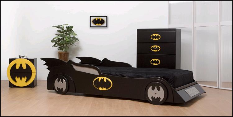 Boys Batmobile Car Bed,Boys Beds, Boys Theme Beds