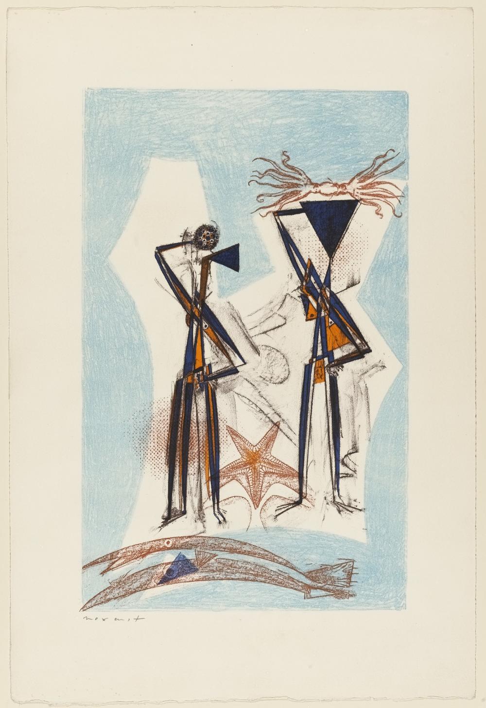 Max Ernst; Star Fish (Étoile de mer); 1950. in 2020 Max