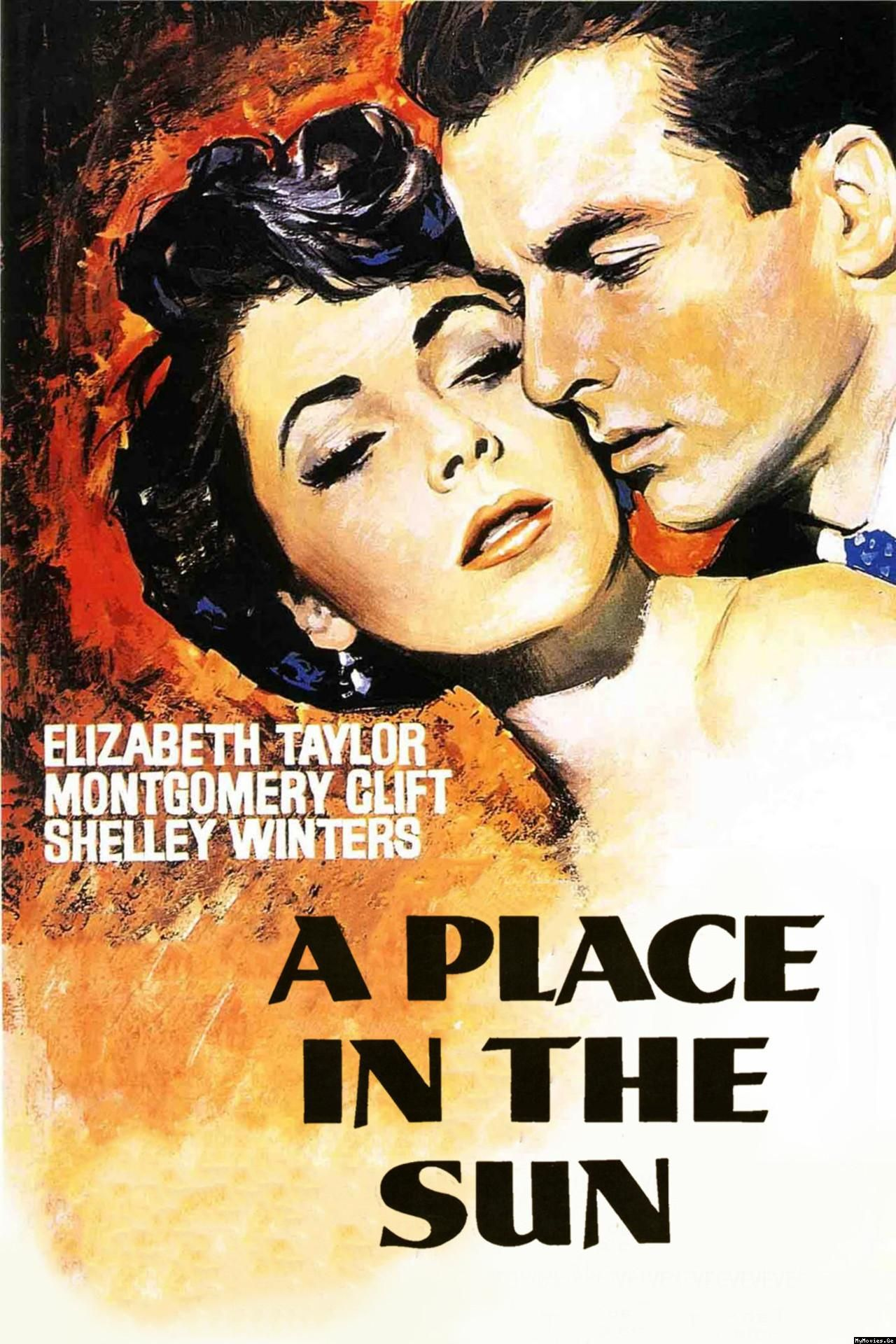 A Place In The Sun Movie Poster - Elizabeth Taylor -6790