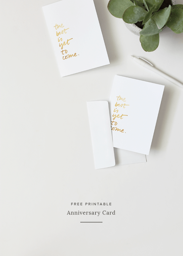 Nett Kostenlos Ausdruckbare Anniversary Cards Für Ihre ...