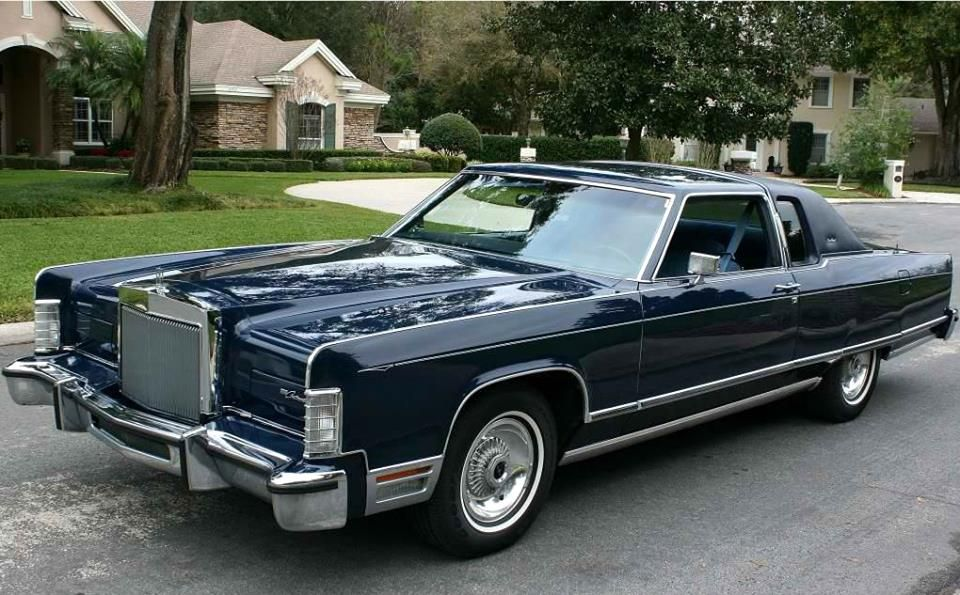 1977 Lincoln Continental Town Coupe | Lincoln - Mercury