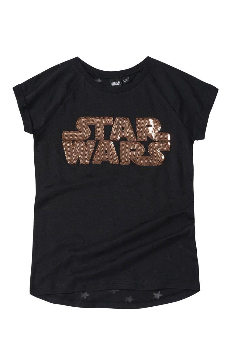 Black Sequin Star Wars T Shirt Embellishment Pinterest