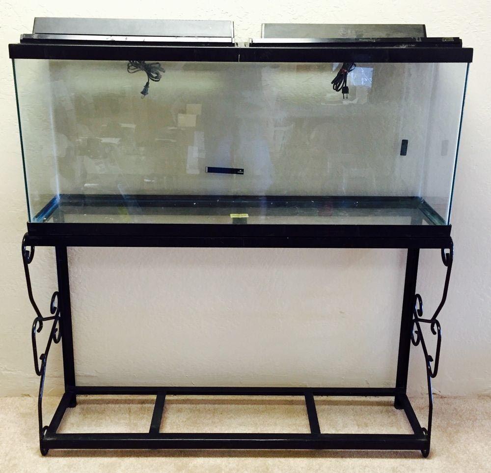 Entzuckend Custom Wrought Iron Aquarium Stand