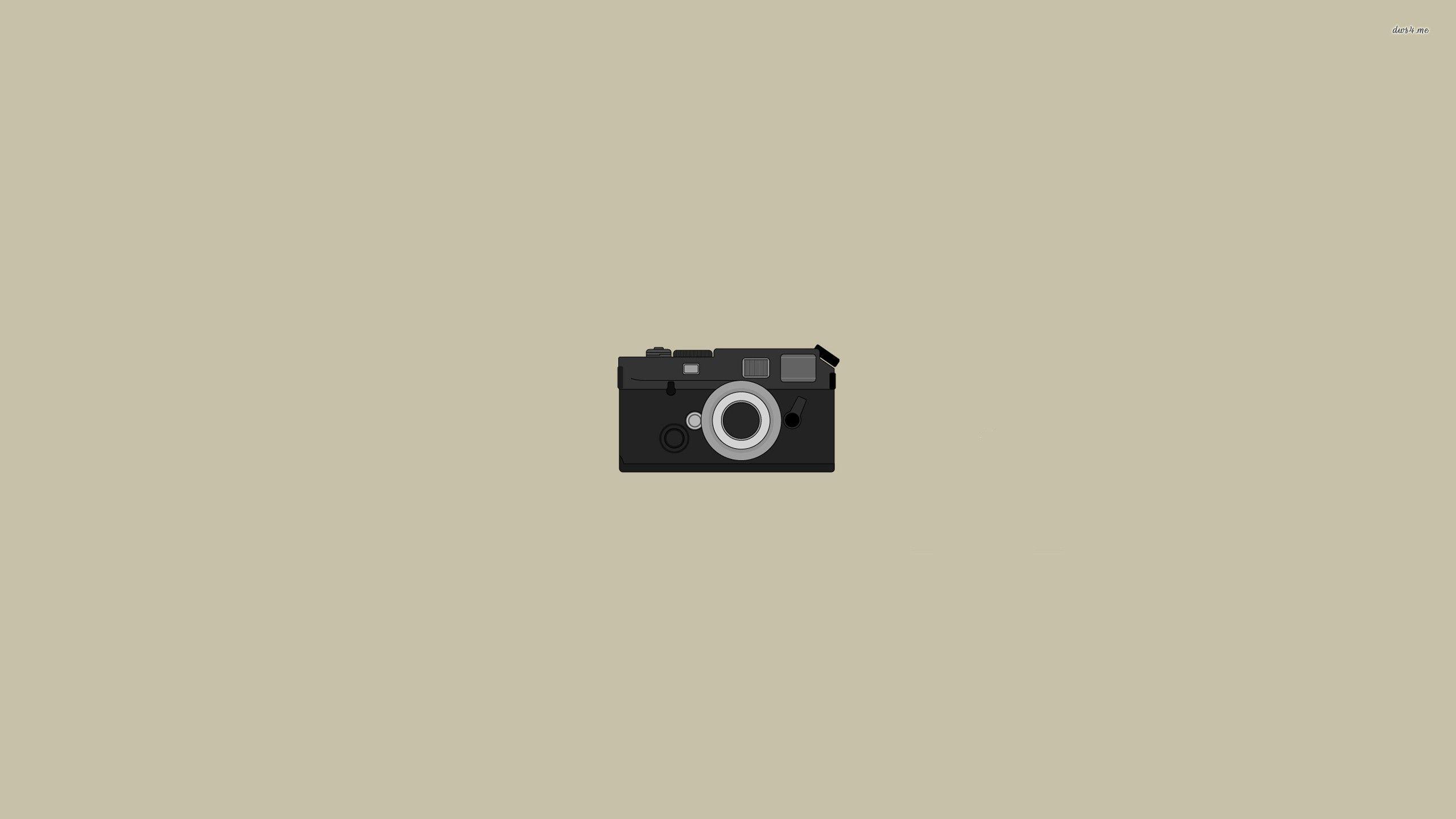 Camera Minimalist Wallpaper Simple Camera Camera